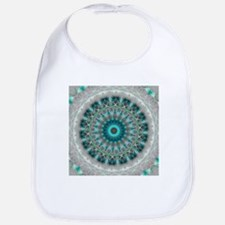 Blue Earth Mandala Bib