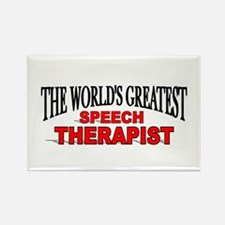"""The World's Greatest Speech Therapist"" Rectangle"