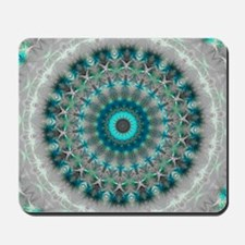Blue Earth Mandala Mousepad