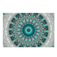 Blue Earth Mandala Postcards (Package of 8)