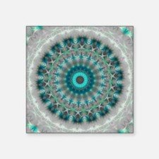 Blue Earth Mandala Sticker