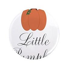 """Little Pumpkin 3.5"""" Button (100 pack)"""