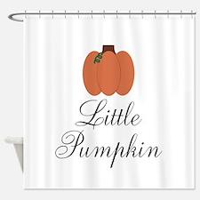 Little Pumpkin Shower Curtain
