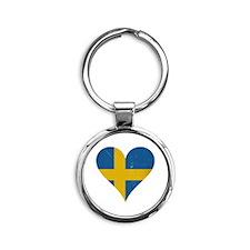 Sweden heart Keychains