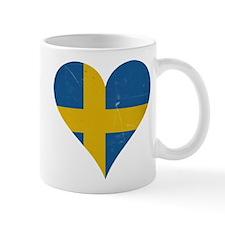 Sweden heart Mug