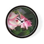 Pink Power Wall Clock