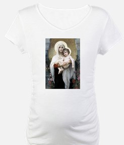 Madona with roses Bouguereau Shirt