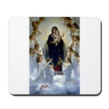 Regina Angelorum Bouguereau Mousepad