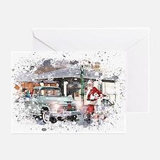 Grunge Christmas Greeting Cards 11(Pk of 10)
