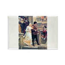 Medieval church wedding painting Rectangle Magnet