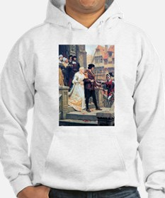 Medieval church wedding painting Hoodie