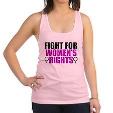 Women's Rights Racerback Tank Top