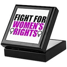 Women's Rights Keepsake Box