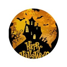 "Halloween 3.5"" Button (100 pack)"