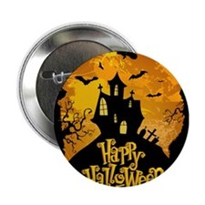 "Halloween 2.25"" Button"