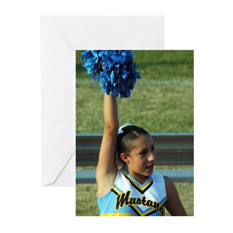 Cheerleader Greeting Cards (Pk of 10)
