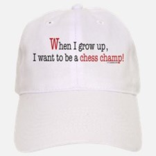 ... a chess champ Baseball Baseball Cap