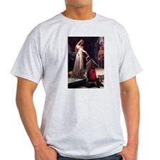 Knighted medieval castle T-Shirt