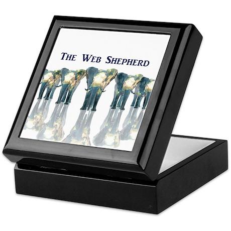 The Web Shepherd @ facebook Keepsake Box