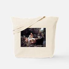 Lady of Shallot Tote Bag