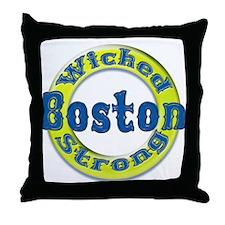 WS Marathon Throw Pillow