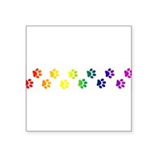 "paws copy.png Square Sticker 3"" x 3"""