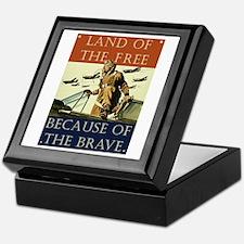 Land of the Free Keepsake Box