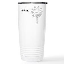 Plumbago flower in bloom Mug