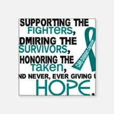 © Supporting Admiring 3.2 Ovarian Cancer Shirt Sti