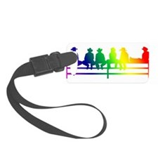 cowboys and cowgirls copy.png Luggage Tag