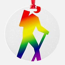 3-hiker.png Ornament