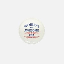 World's Most Awesome CNA Mini Button (100 pack)