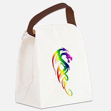 transparent dragon 2.png Canvas Lunch Bag