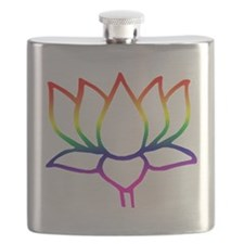 lotus outline.png Flask