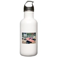 Godward Dolce far Niente resting lady Water Bottle