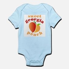 Sweet Georgia Peach Infant Bodysuit
