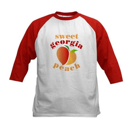 Sweet Georgia Peach Kids Baseball Jersey