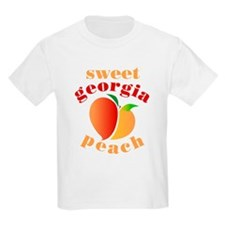 Sweet Georgia Peach Kids T-Shirt
