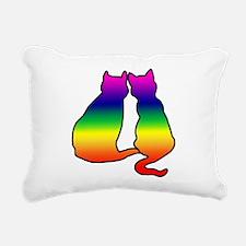 cats.png Rectangular Canvas Pillow