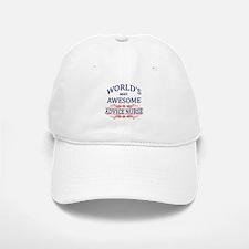 World's Most Awesome Advice Nurse Baseball Baseball Cap