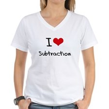 I love Subtraction T-Shirt