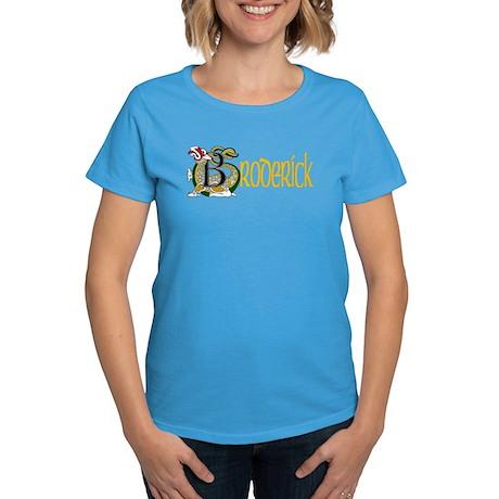 Broderick Celtic Dragon Women's Dark T-Shirt