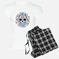 Colorful Sugar Skull Pajamas