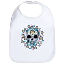 Colorful Sugar Skull Bib