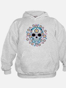 Colorful Sugar Skull Hoodie