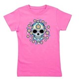 Sugar skull Girl's Dark T-Shirt