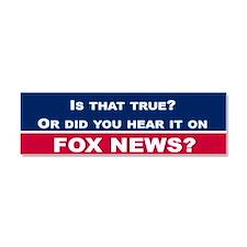 Fox News Car Magnet 10 x 3