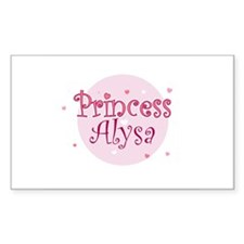 Alysa Rectangle Decal