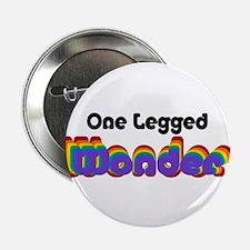 """One Legged Wonder 2.25"""" Button"""