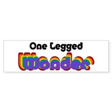 One Legged Wonder Bumper Sticker